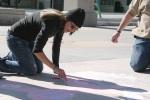 Sidewalk Chalk Homecoming 2009